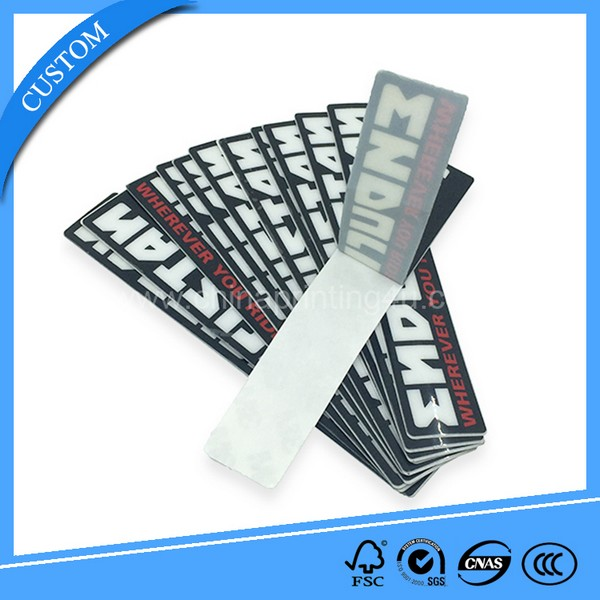 removable self-adhesive paper sticker