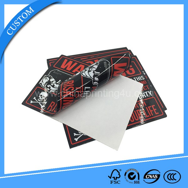 Full Color Printed PVC sticker