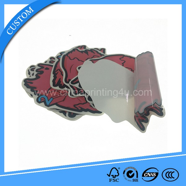 Bottle PVC Sticker for Promotion