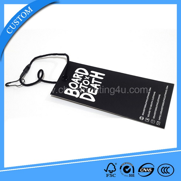 new design garment printed paper tag