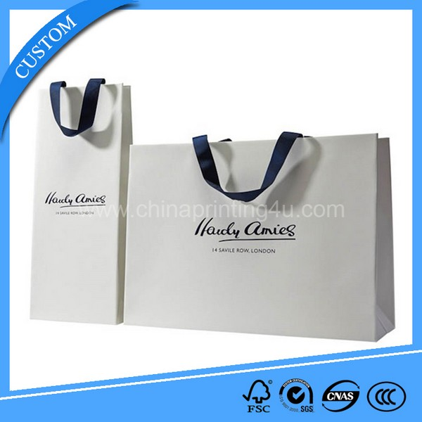 Kraft Paper Bag With Twisted Handle