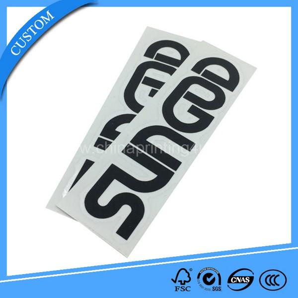 Manufacturing custom cartoon image sticker