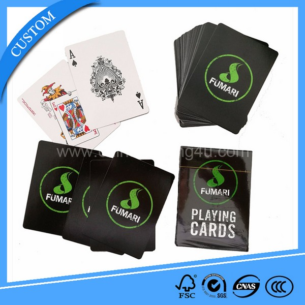 Promotional Paper Playing Cards Poker Cards Gambling Cards