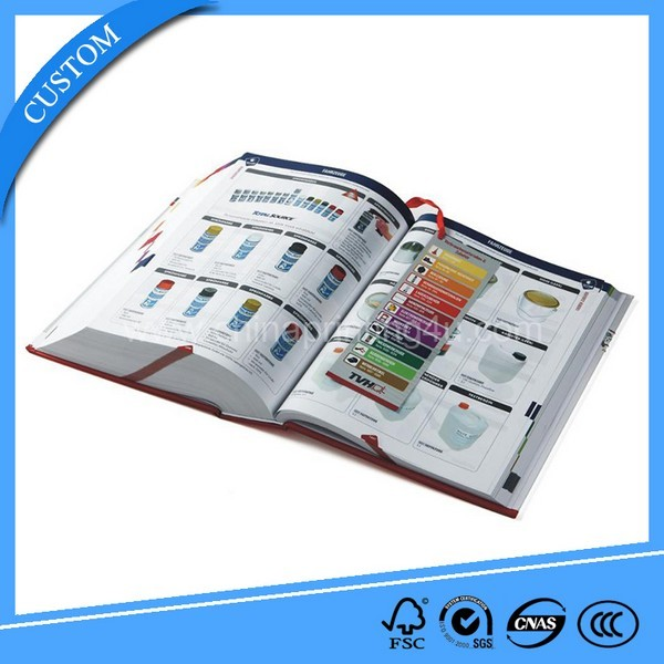 2018 Color Book Printing Service In China
