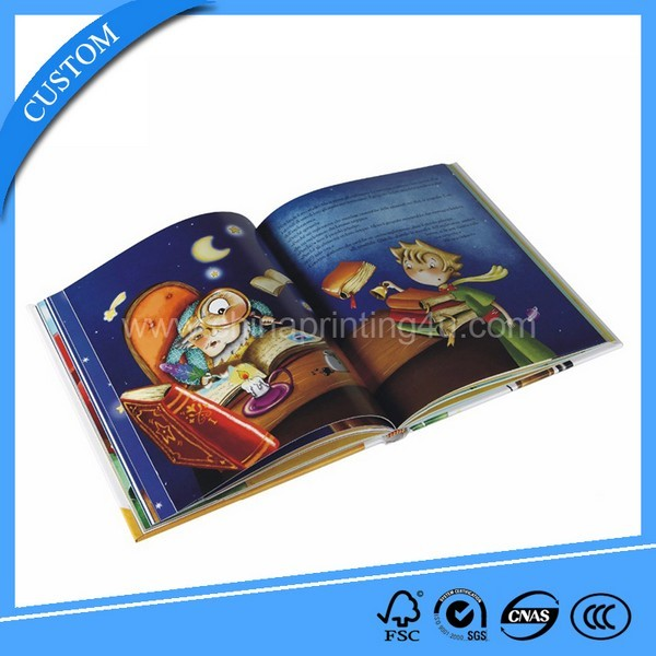 High Quality Professional Children Cardboard Book Printing