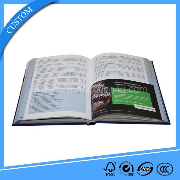 Customized Book Printing (Text Book, Catalogue And Magazine,Brochure)