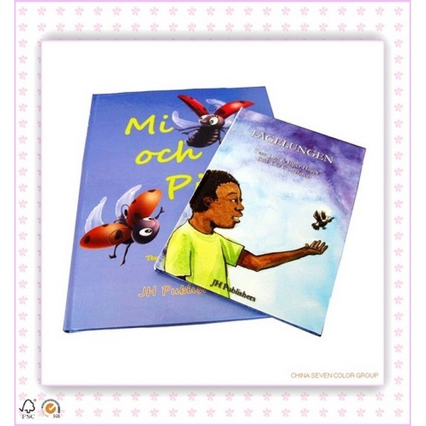 Hardcover Colorful Children Book Printing In China