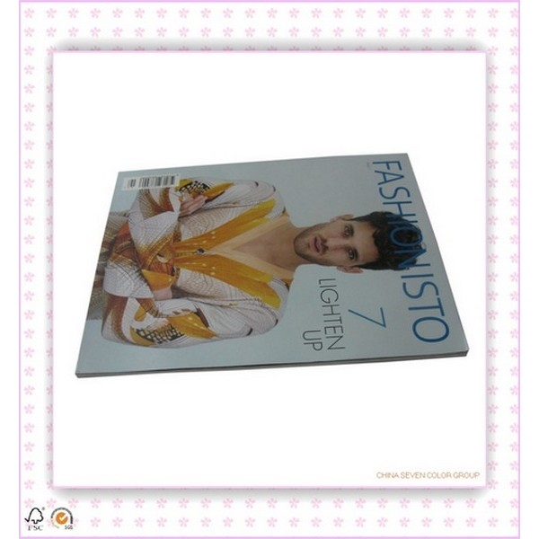 Professional High Quality Fashion Magazine Printing
