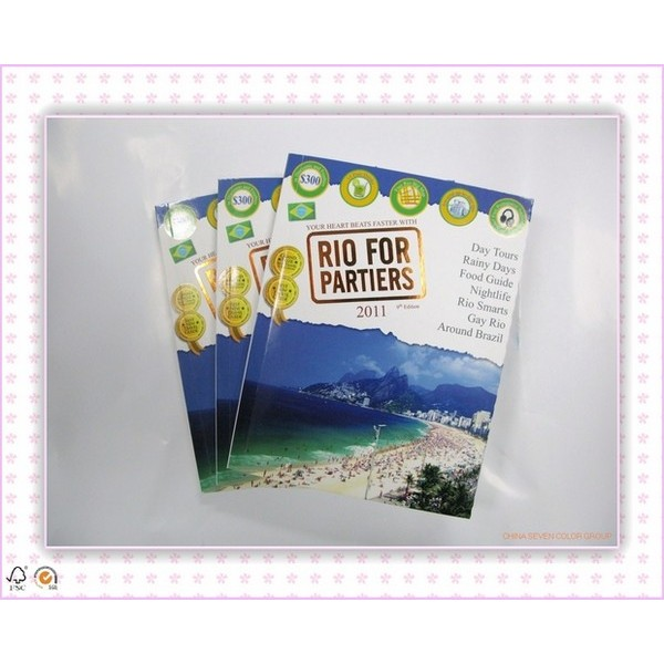Offset Printing Fashion Magazine Printing