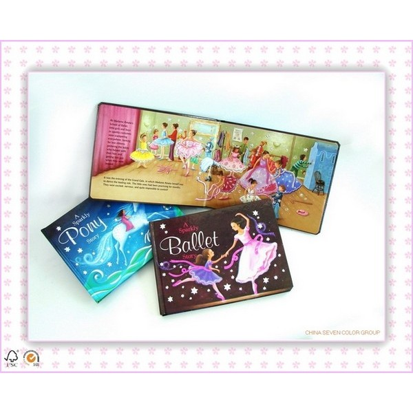 Colorful UV Children Book Printing