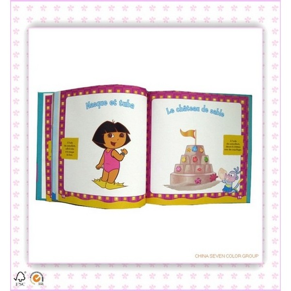 Custom Coloring Cheap Hardcover Book Printing
