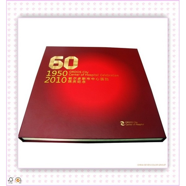 Thick Hardcover book printing
