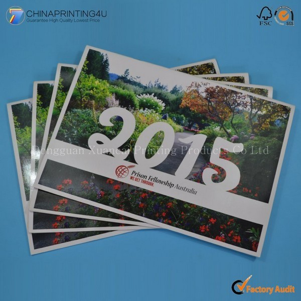 Professional Custom Advertise Calendar Printing In Factory