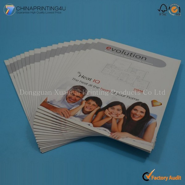 China Factory Professional Sample Free Magazine Printing