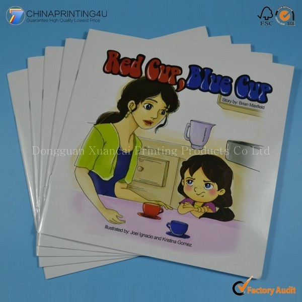 Professional Children Book Printing With Softcover