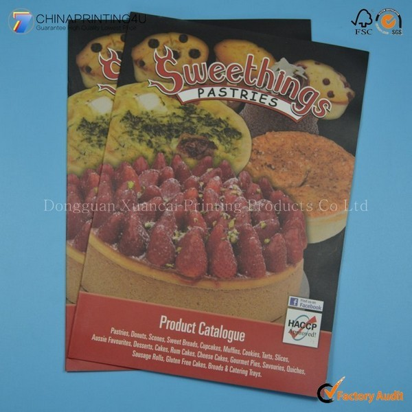 High Quality Professional Full Color Cookbook Printing