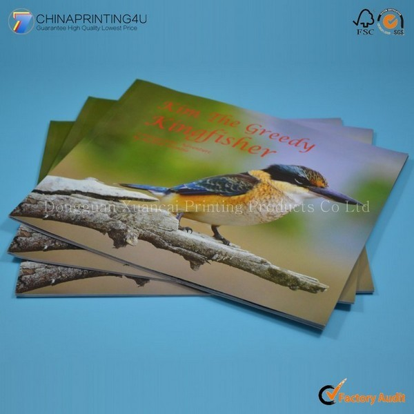 High Quality Low Cost Softcover Photo Book Printing