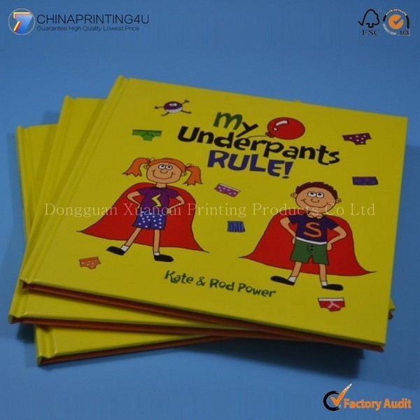 High Quality Custom Colorful Hardcover Children Book Printing
