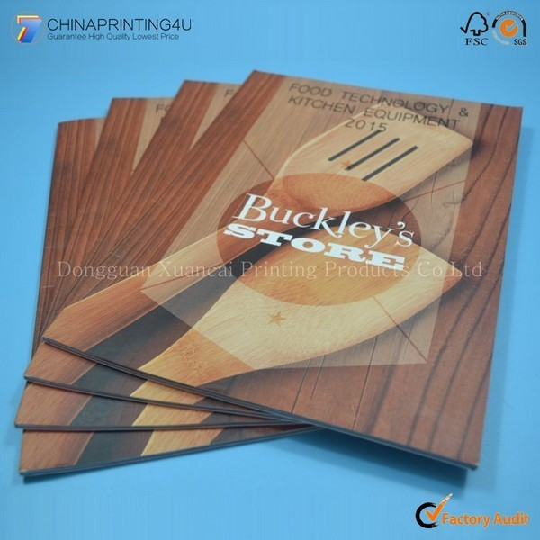 Large Quantity Cheap Price Perfect Binding Catalog Printing