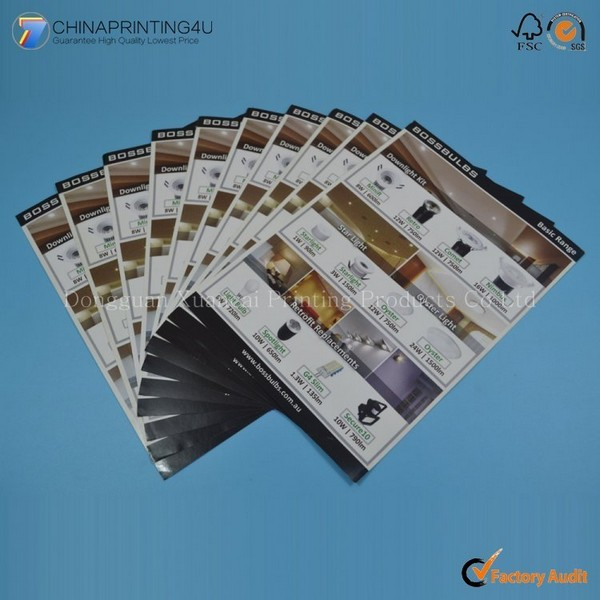 High Quality Cheap Price Flyer Printing Factory Professional