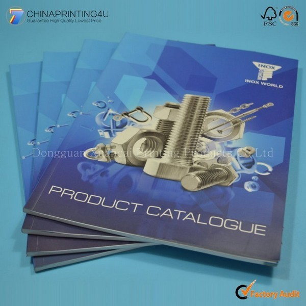 Cheap Price Softcover Catalog Printing China Factory