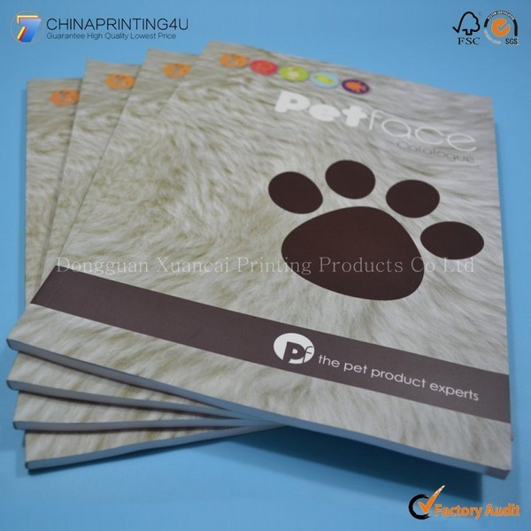 China Factory Printing High Quality Catalog Printing