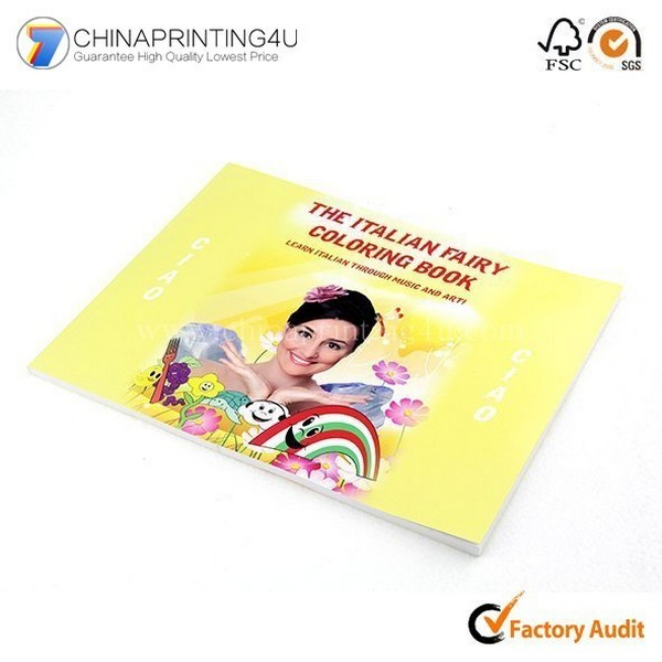 China Factory Custom High Quality Softcover Book Printing