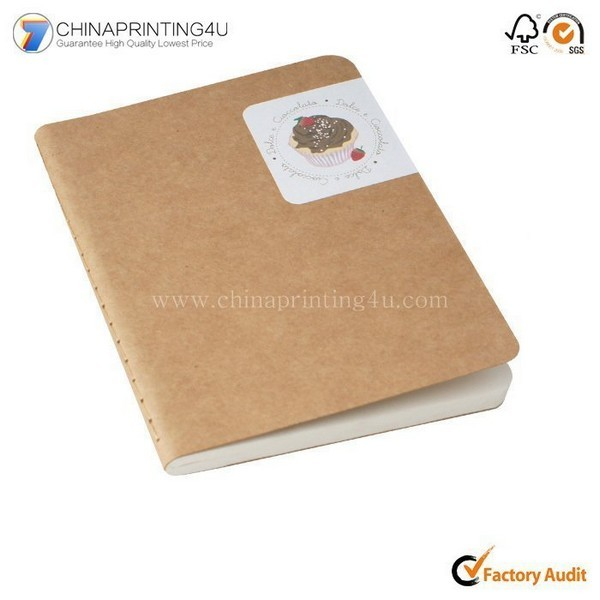 China Custom Sewn Binding Portable Small Notepad Printing