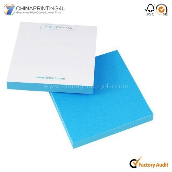 China Manufacturer Customized Cheapest Tear Off Sticky Notepad