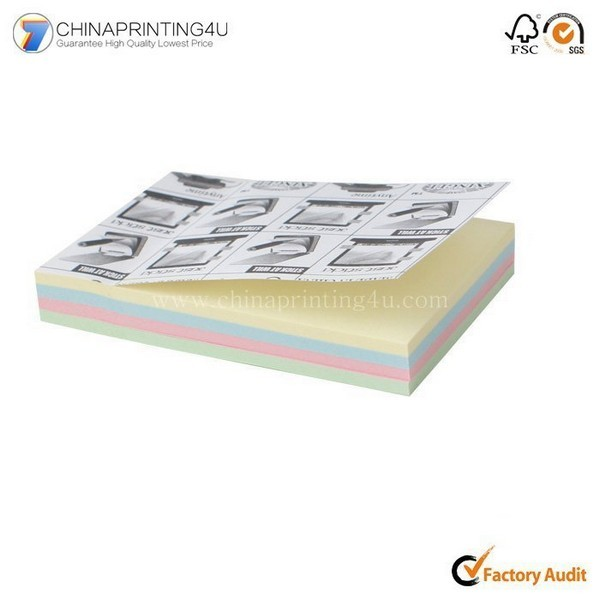 OEM Fashion Luxury Logo Design Printing Sticky Pad Printing