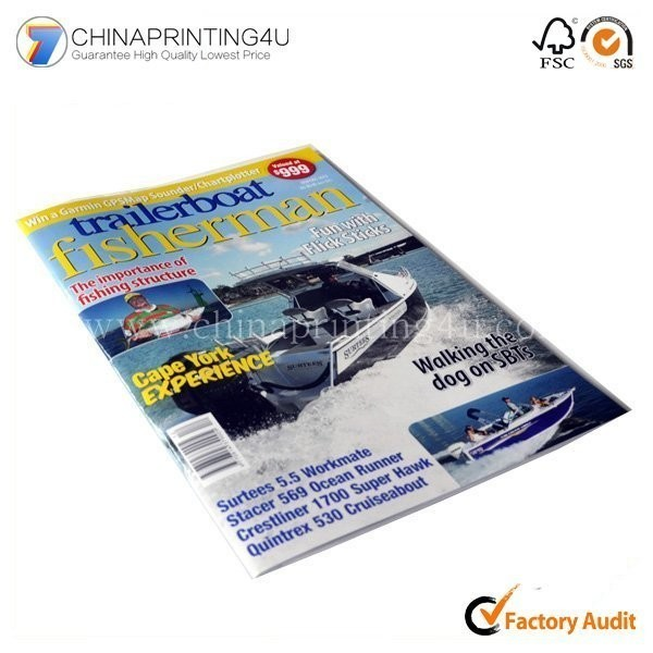 China Factory Custom Brochure Printing With Low Cost