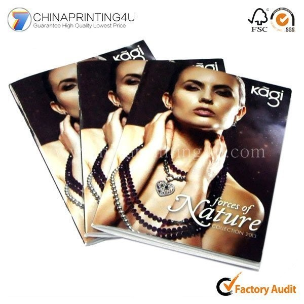 China Printing Company Design Jewelry Brochure Printing