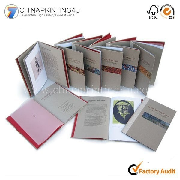 Custom Design Brochures And Booklet Printing China