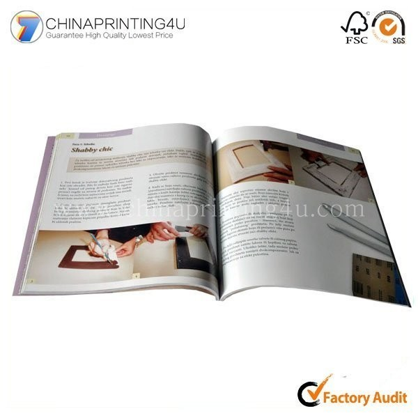 Book Printing Service Cheap Price Brochure Printing
