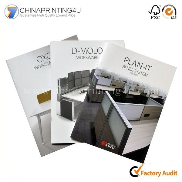 Book Printing Service Brochure Printing With Offset Printed