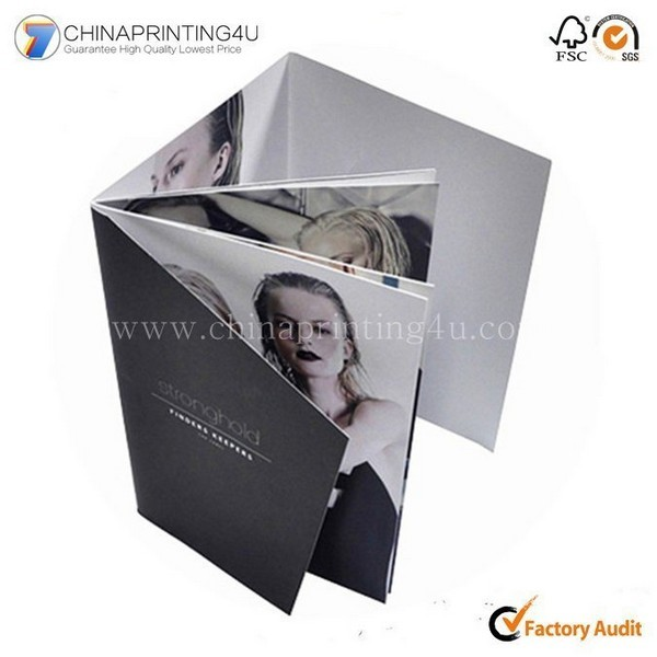 Customized Advertising Brochure Folder Printing China Factory