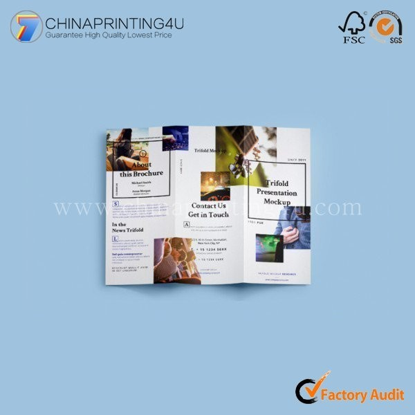 Cheap Colorful Customised Size Bulk Leaflet Flyer