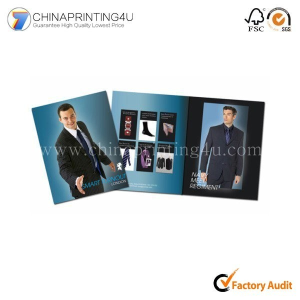 China Custom Free Sample Glossy Paper Full Color