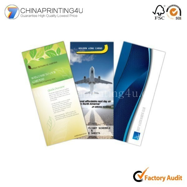 China Custom Size Free Sample Fancy Paper Poster Printing