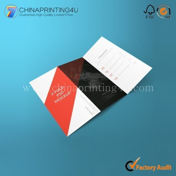 Customized Company Color Professional Flyer Brochure Poster