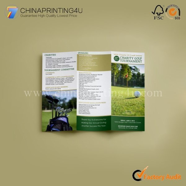 Good Quality Custom Commercial Digital Colorful Flyer