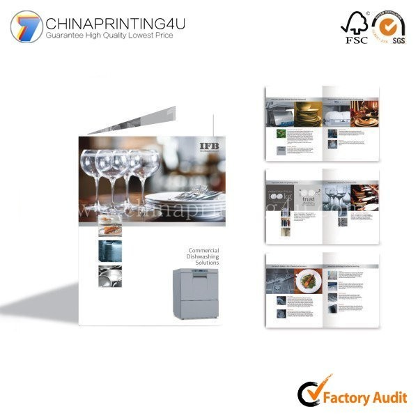 High Quality Printing Brochure Flyer Printing Leaflet