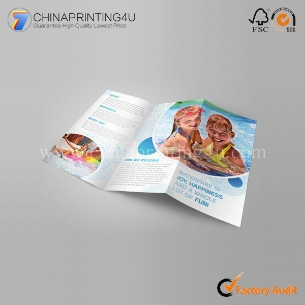 New Design Cutomized Size Softcover Two Flyer