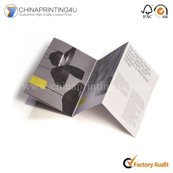Professional Cheap Color Leaflet Flyer Booklet Printing