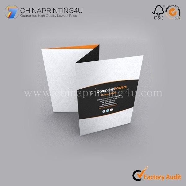 Professional Flyer Printing Folding Commercial Flyer Cheap