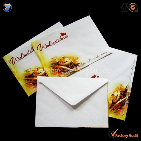 High Quality Printing Envelop In China Printing Factory