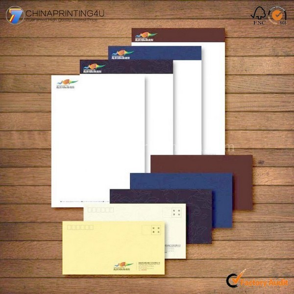 Professional Cheap Envelop/Letterhead Printing High Quality