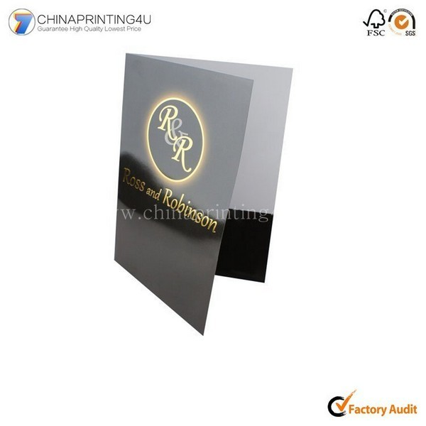 Cheap China Printing Company Custom Brochure Leaflet Printing