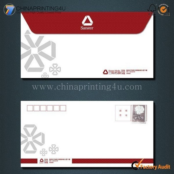 Trade Assurance Supplier Color Envelop Printing Company