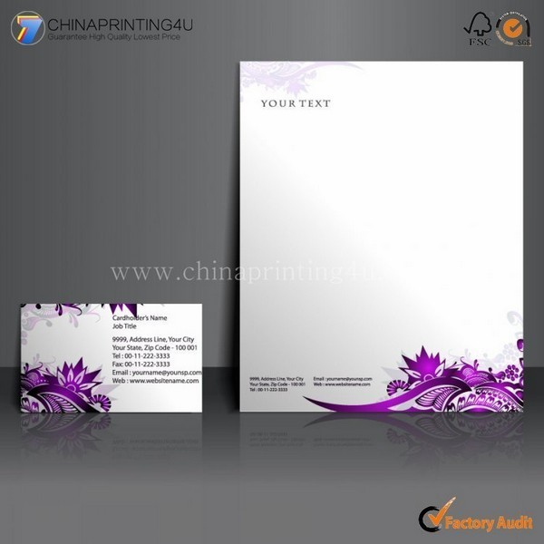 Company Customized High Quality Envelop/Letterhead Printing